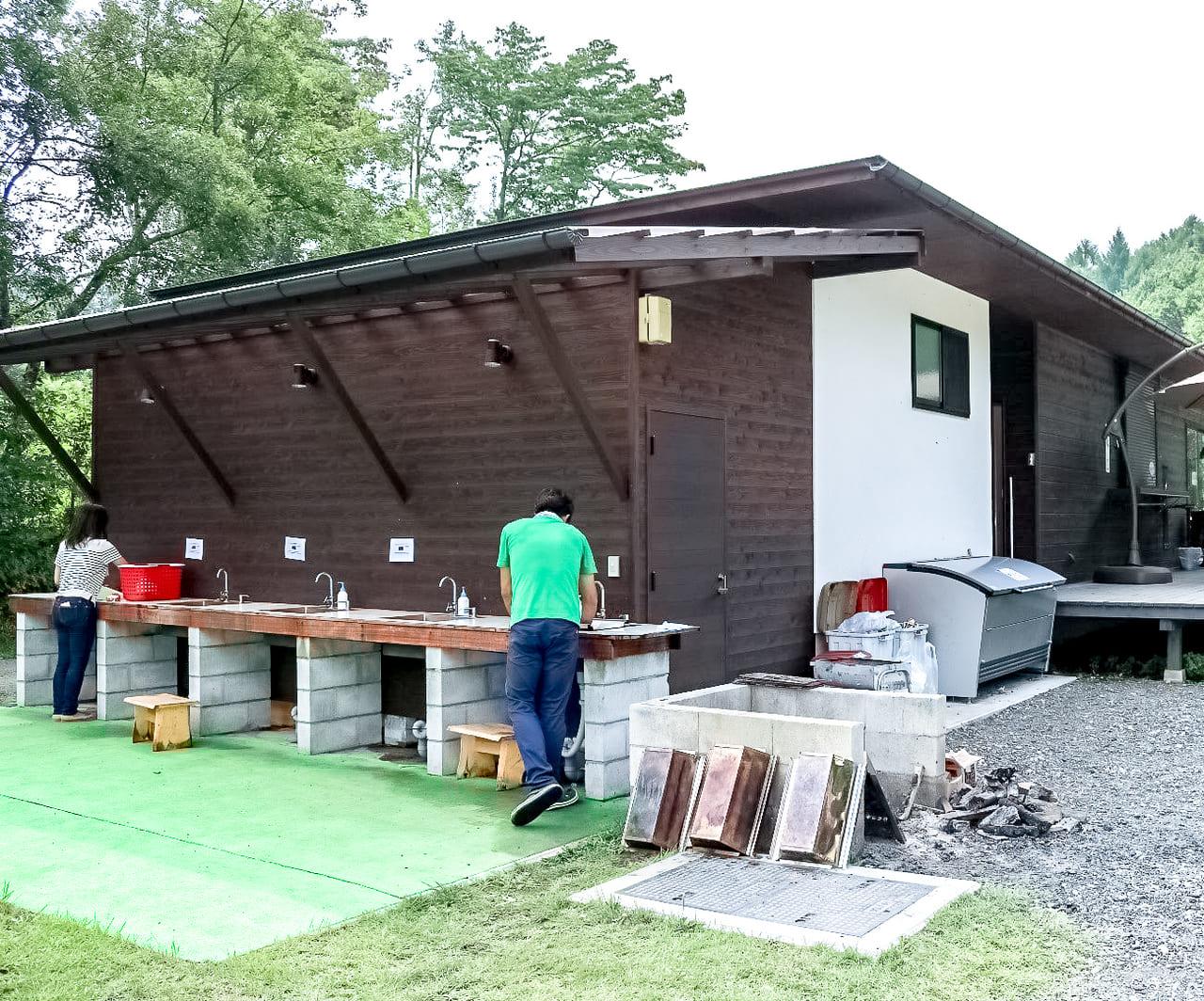 /KARUIZAWA-CAMP-GOLDの炊事場