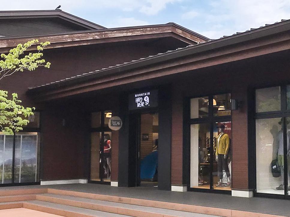 /MOUNTAIN-HARDWEAR昭島アウトドアヴィレッジ店外観