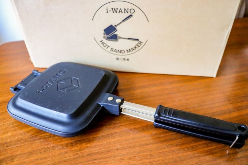 i-WANOホットサンドイッチクッカー