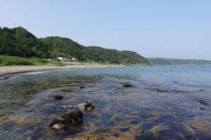 海辺のキャンプ場